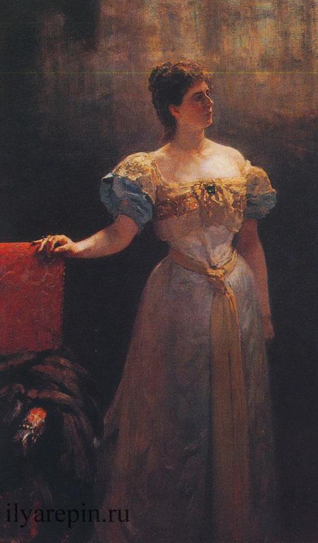 Портрет княгини Марии Тенишевой