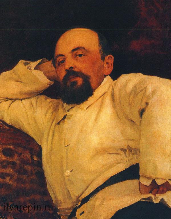 Портрет Саввы Мамонтова
