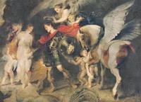 Фреска с античным сюжетом