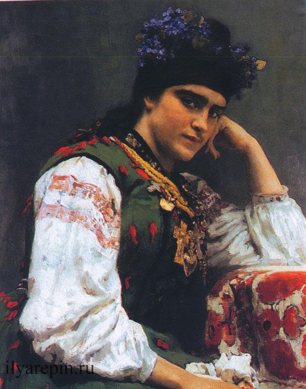 Портрет С.А. Драгомировой