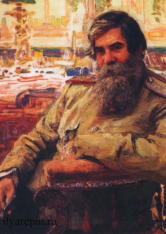 Портрет В.М. Бехтерева