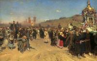 Крестный ход в Курской губернии. 1880-1883