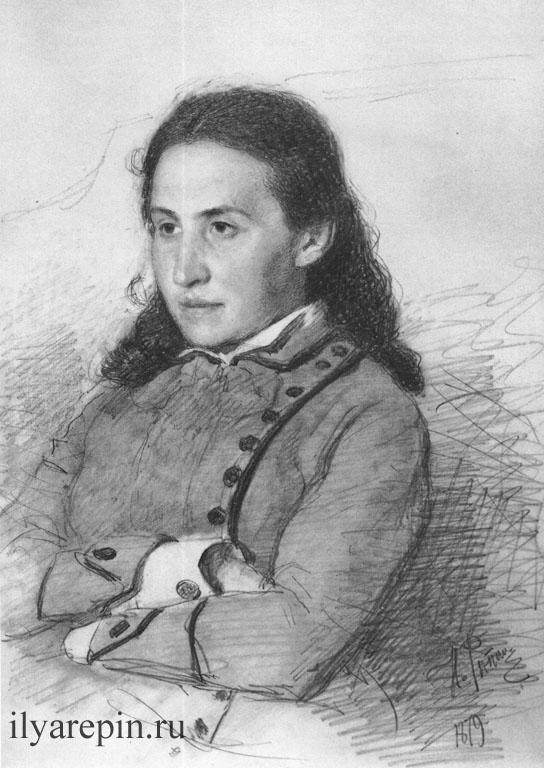Портрет Е.Г. Мамонтовой