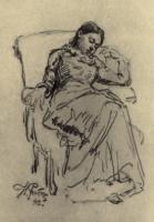 Отдых. Этюд. 1882